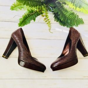 Banana Republic| Dark brown Heels| Size 8.5